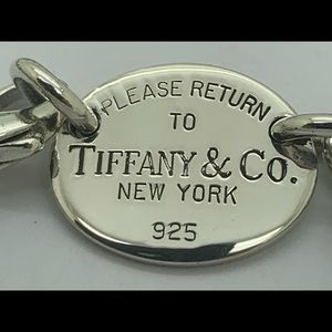 Tiffany&co 925 Return Necklace 15 Inches